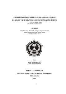 AQIDAH PERJUANGAN DAN PDF