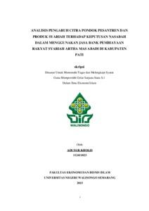 thesis syariah Artikel ini sangat bermanfaat untuk menambah wawasan mengenai ekonomi syariah, kami juga memiliki situs yang membahas mengenai ekonomi syariah, anda bisa kunjungi di ekonomi syariah.